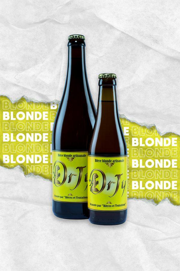 bière blonde douce et onctueuse artisanal de la Marne
