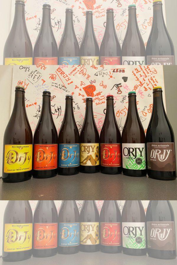 gamme compléte de nos bière local champenoise